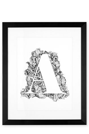 Buy Framed Alphabet Picture from the Next UK online shop | new house ...