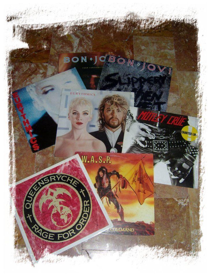 Bon Jovi, Eurythmics, Motley Crue. W.A.S.P., Queensryche