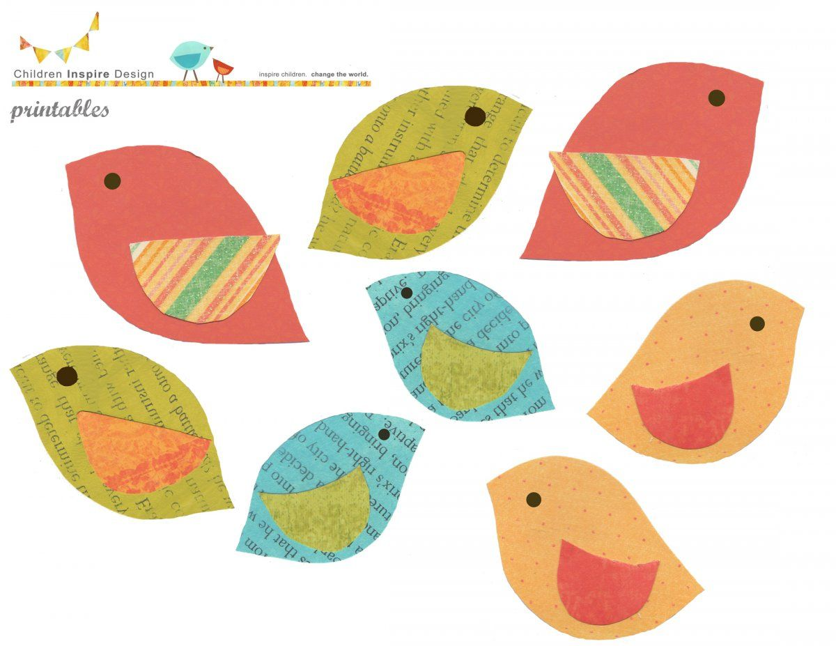 Free Bird Printables Totally Love These