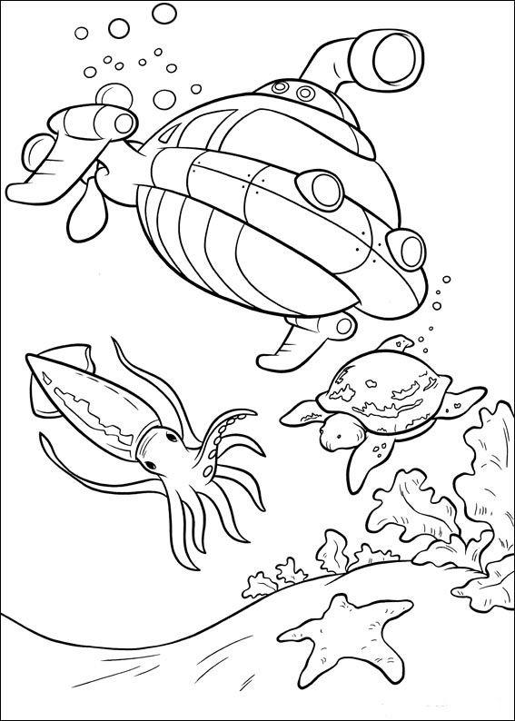 Dibujos para Colorear Mini Einsteins 38 | Time toooo Relax ...