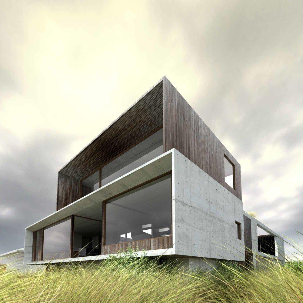 Bijayya Home Interior Design Ultra Modern Homes Designs: (Viz) Cliff House / Auhaus Architecture