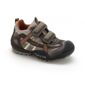 $71 Zapatillas deportivas caña baja Jr Savage niño chico - GEOX  suela caucho