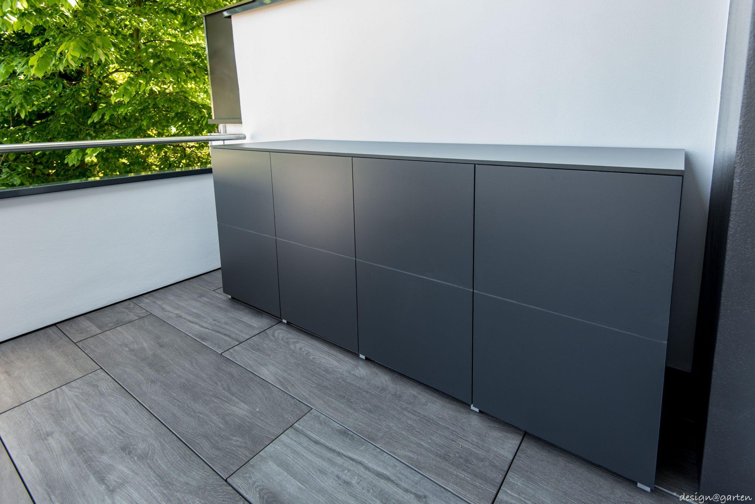 Terrassenschrank XXL   unter Carport    win by designgarten ...