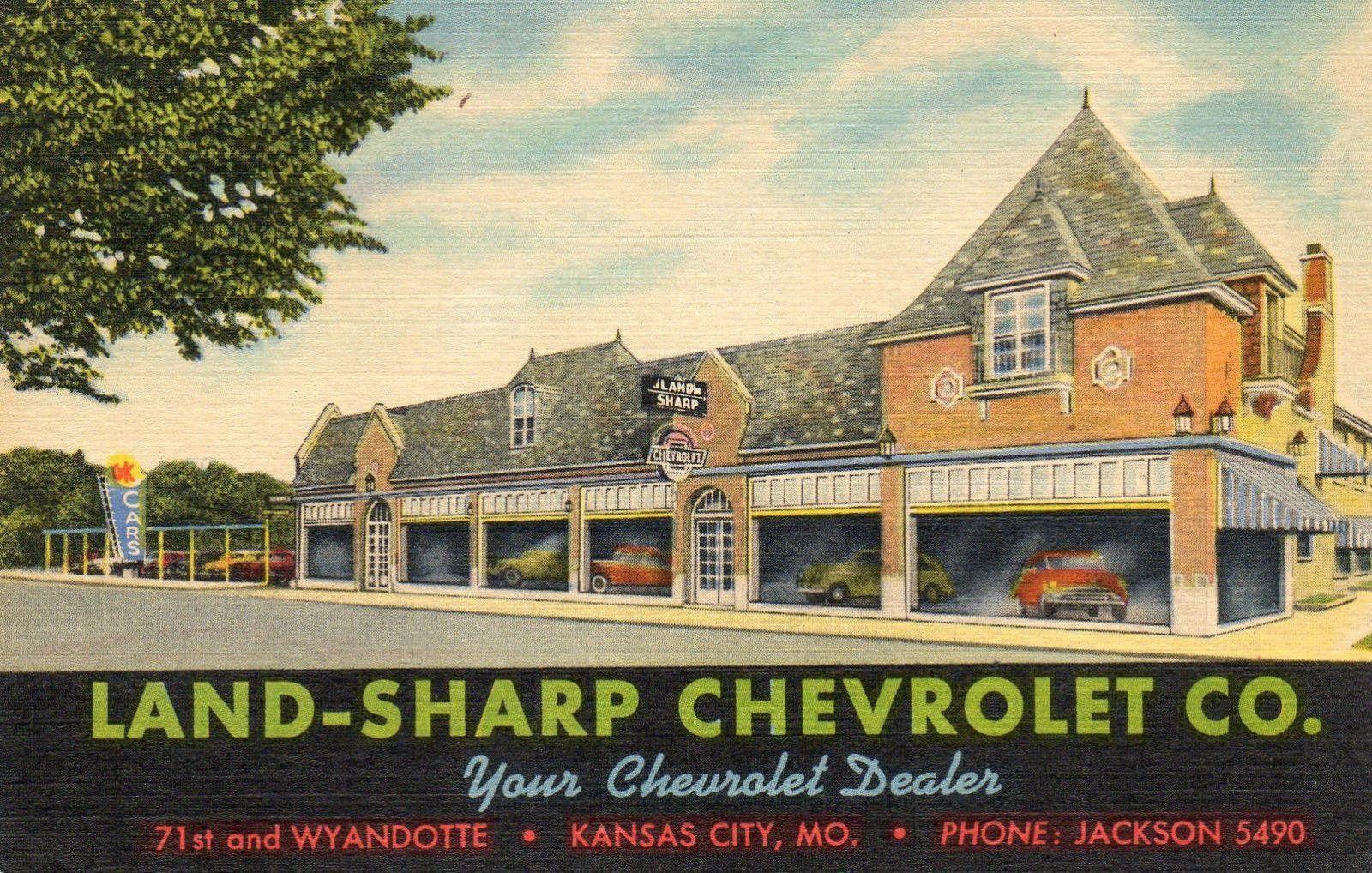Land Sharp Chevrolet Co Dealership Kansas City Missouri Kansas City Kansas City Missouri Car Dealership