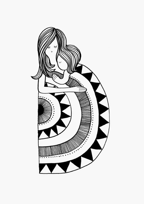 Nana Sjoblom ~   illustration   Pinterest   Kunstunterricht ...