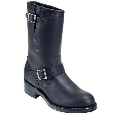 b2b8df54c88 Chippewa Boots: Men's USA-Made Black 97863 Engineer Work Boots ...