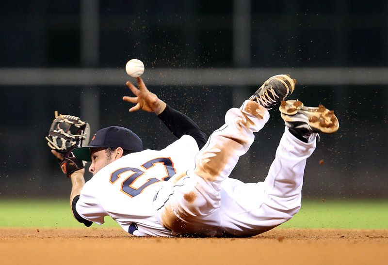 """Sports Action Award of Excellence """"ALTUVE DIVING THROW"""