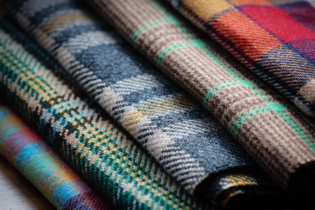 Drake's cashmere scarves.