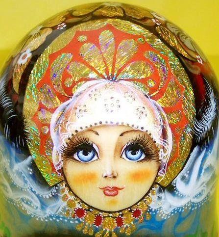 Картинка лицо куклы в платке