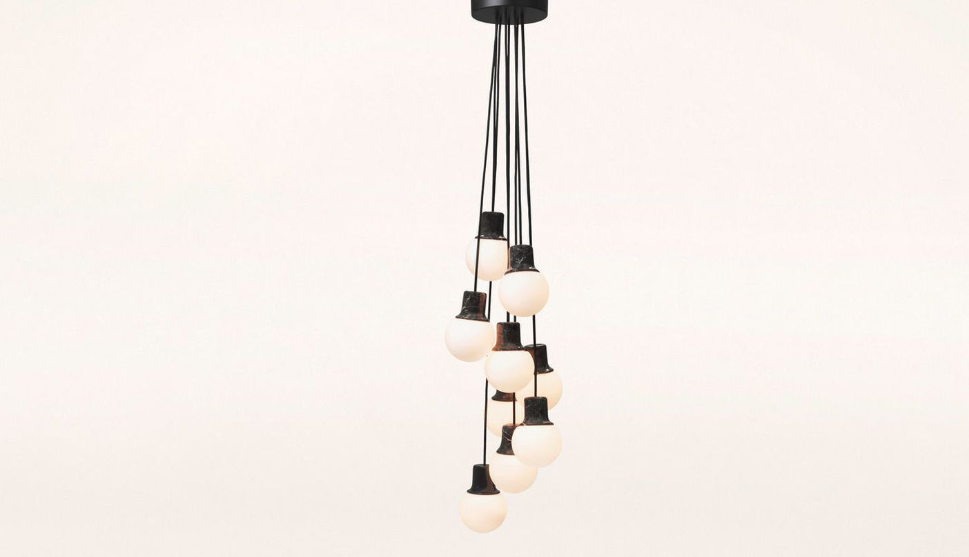 Norm Architects - Mass Light Chandelier - NA6 - 9 Pendants ...