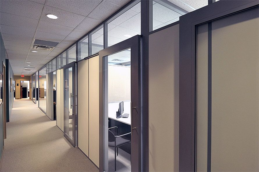Glass partition walls flex wall 2 the flex series glass for Sliding door partition wall