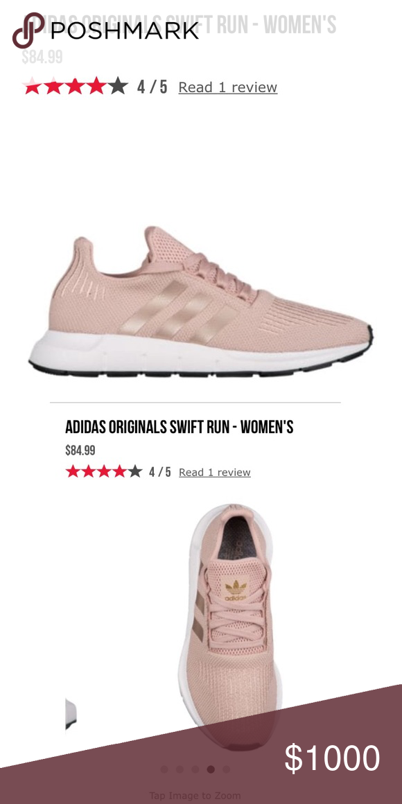 4c19c1ec0d1 ISO adidas swift run 10 rose gold dust pearl coppe Looking for these shoes  in size 10 adidas Shoes Athletic Shoes