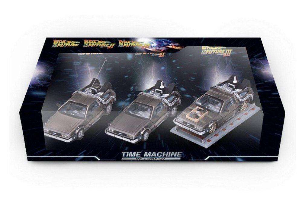 Back To The Future Part I II III DeLorean Time Machines
