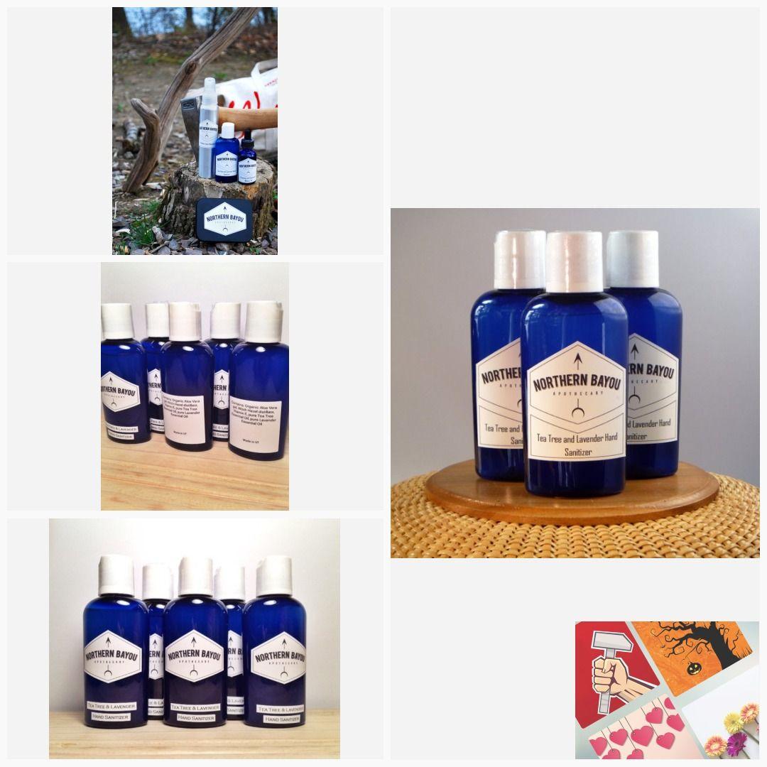 Tea Tree Lavender Hand Sanitizer Handsanitizer Vermont