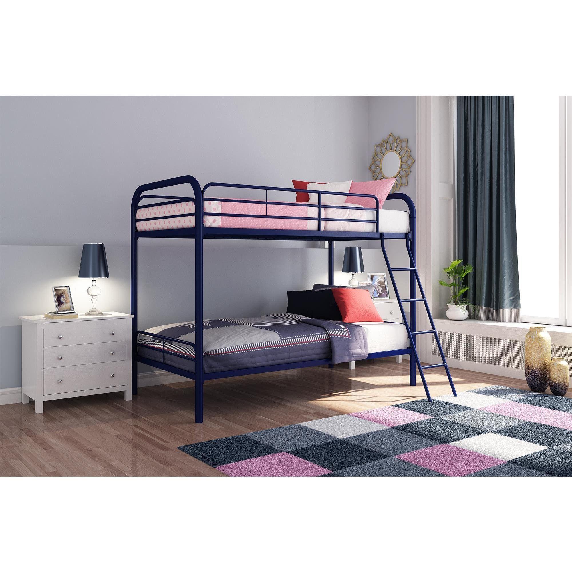 Edison Twin Over Twin Metal Bunk Bed Metal Bunk Beds Bunk Beds Twin Bunk Beds