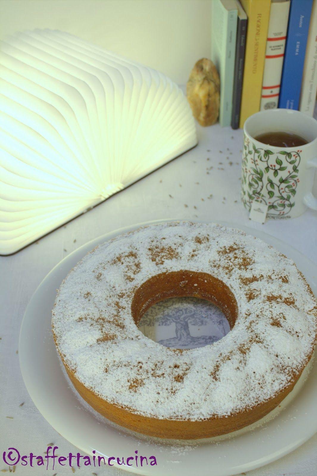 Ciambellone yogurt e lavanda | Dolci | Pinterest | Cucina