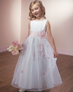 e2c5faaf634 MORI LEE Flower Girls Style 572 - Satin and Organza
