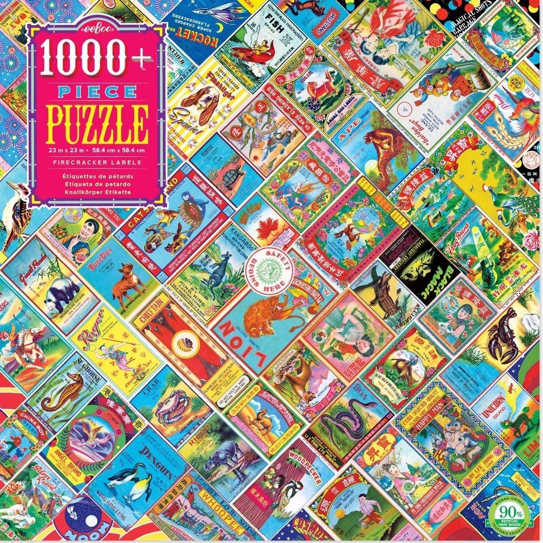 Have you tried the Firecracker Labels 1000 Piece Puzzle? A