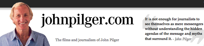 John Pilger interviewed on the US election's silent issue
