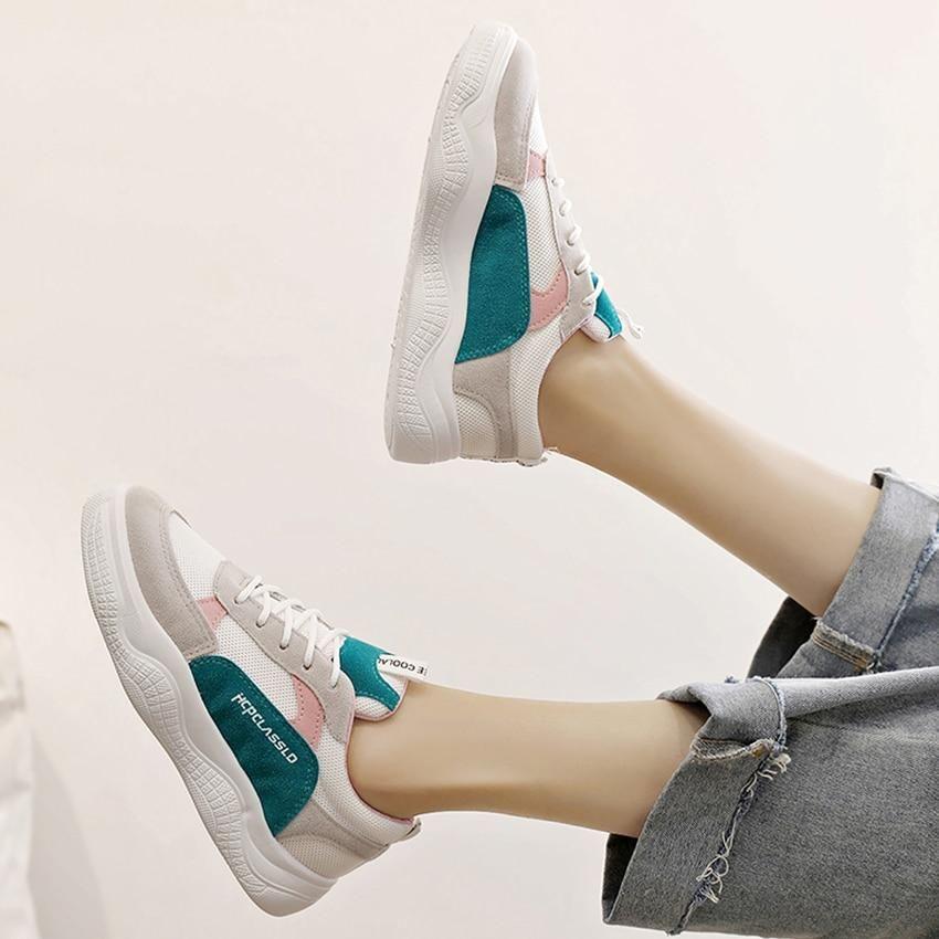 643597442c7 BIMUDUIYU New Spring summer Breathable Comfortable Shoes Women Flats ...