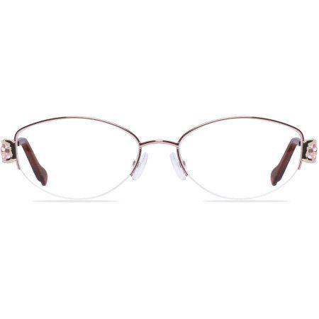 Visage Womens Prescription Glasses, Jersey Pink | prescription eye ...