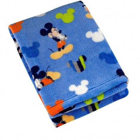 Mickey Mouse Go Mickey Coral Fleece Blanket Plush Baby Blankets Baby Mickey Mouse Mickey Mouse Blanket