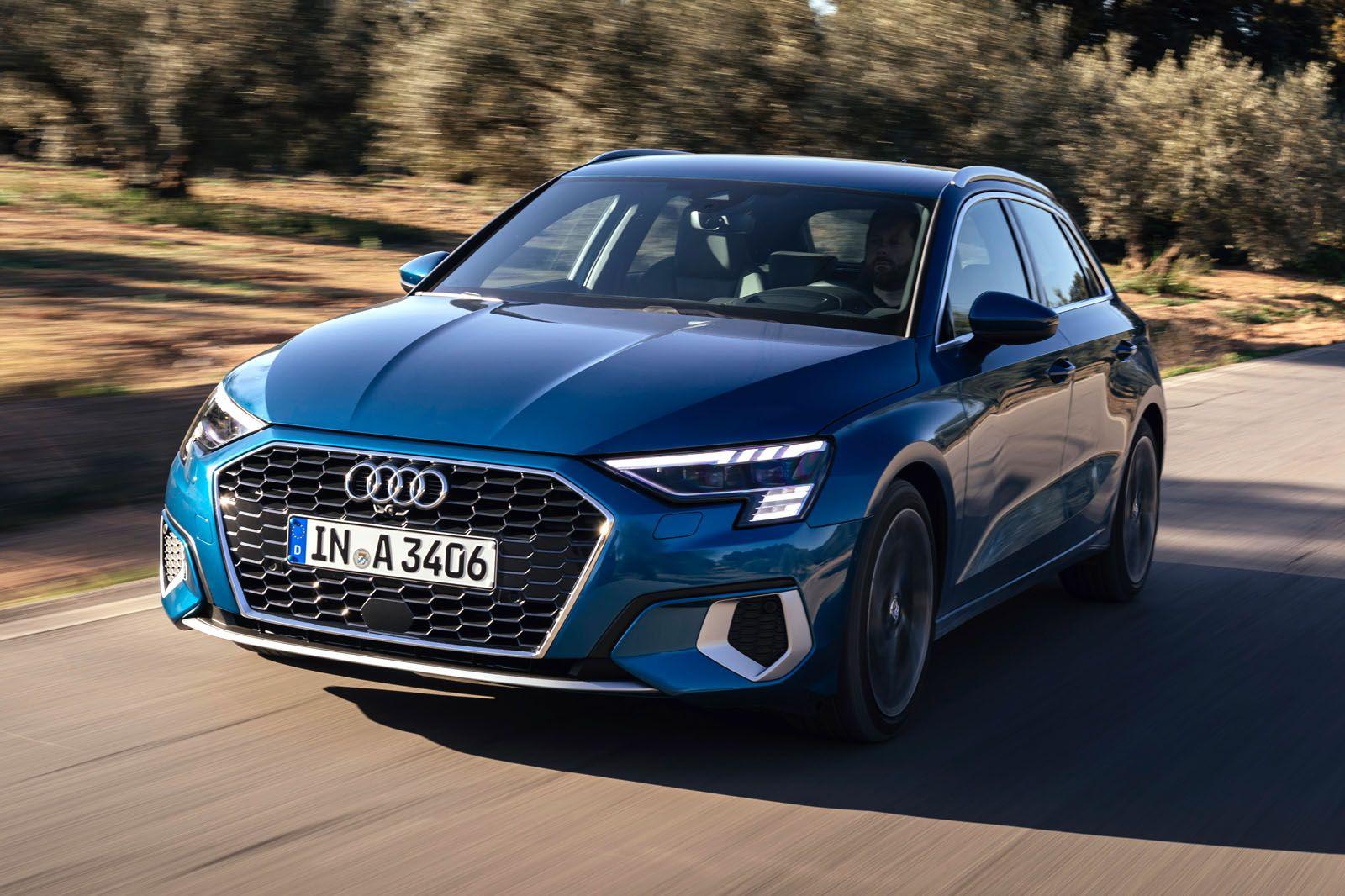 Audi A3 Sportback 35 TDI S tronic S line 2020 review https