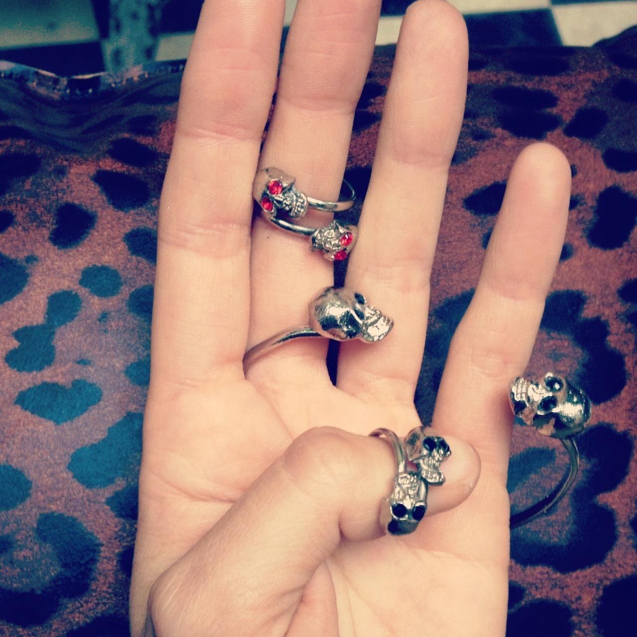 Anillo skull pulsera skull delacuca delacuca accesorios pinterest