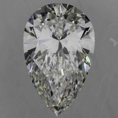 1.25 Carat E/VS1 GIA Certified Pear Diamond