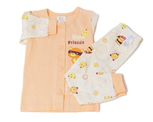 781c58335 Chummy Chummy Korean Cotton Zoo Friends Baby 2 Piece Sleep wear 12M ...
