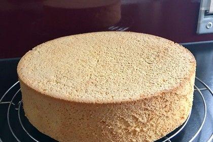 Biskuitboden fr Torten und Kuchen  Recipe  Backen  Biskuitboden fr torten Biskuitboden