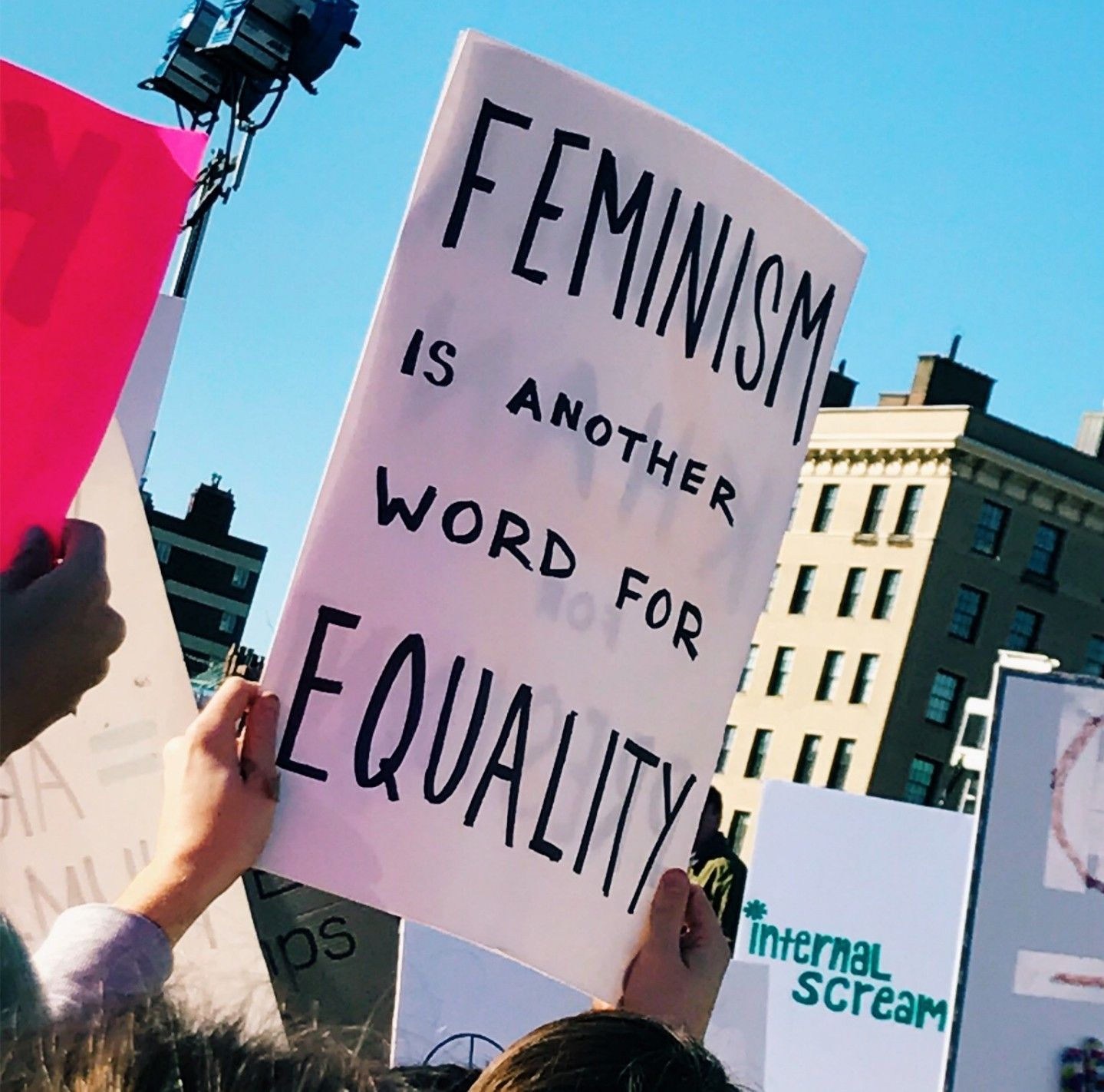 pinterest Yourgirlkin International Womens Day Protest Signs Ladies Day