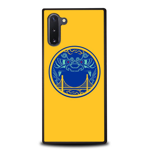 Golden State Warrior Dragon Logo P1931 Samsung Galaxy Note 10 Case