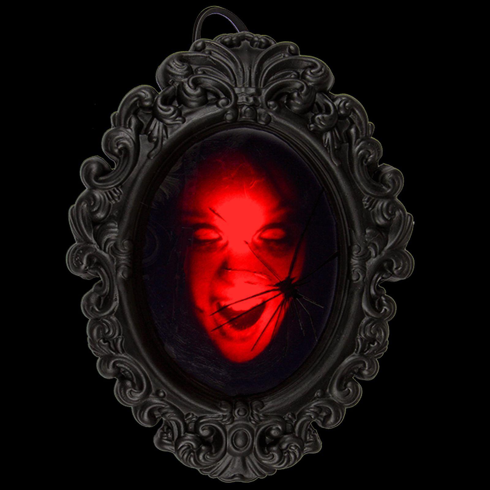 Led Horror Spiegel Mit Sound Halloween Deko Grusel Dekoration Wandspiegel Ebay Werbung Halloween Deko De Grusel Dekoration Halloween Deko Halloweendeko