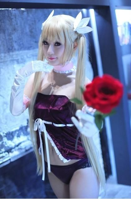 Connu Cosplay Mina Tepes (Dance in the Vampire Bund) | Cosplay KM16