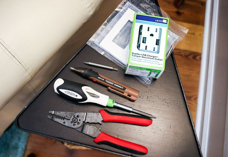 How to install a usb charging outlet usb projects good