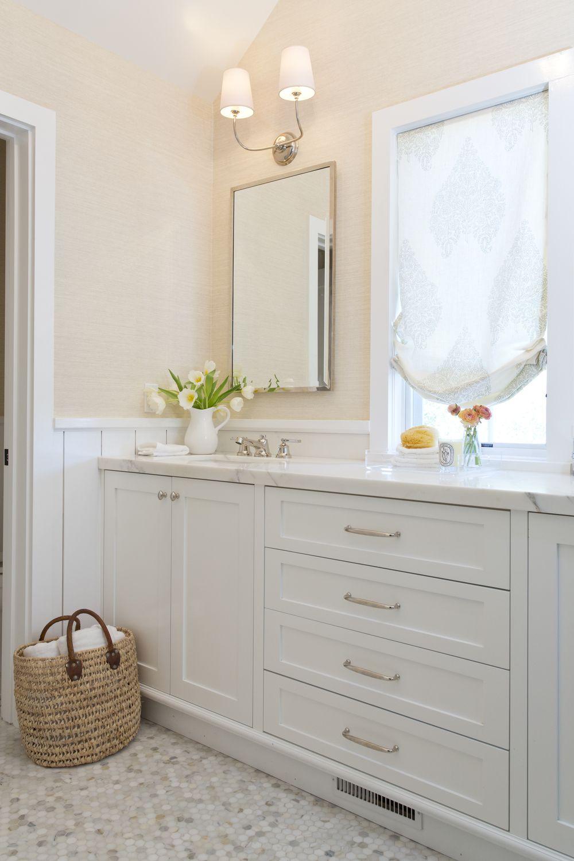 Ross Hills Home Cream Bathroom Peach Bathroom Trendy Bathroom