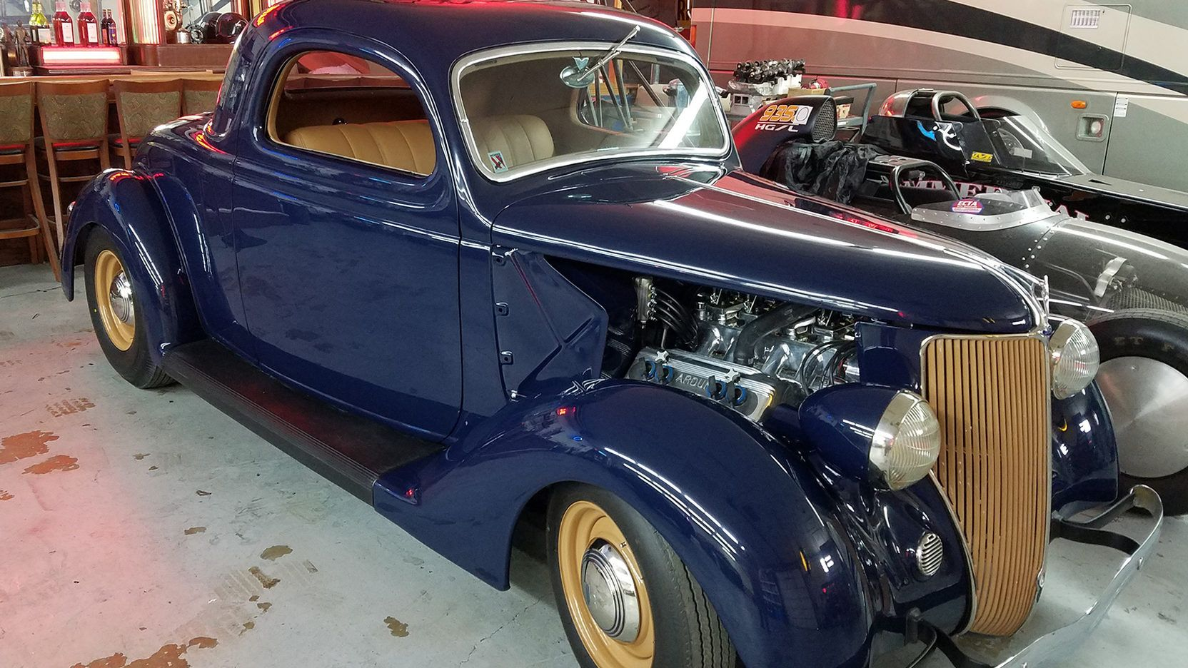 1936 Ford 3 Window Coupe - 1 - Print Image