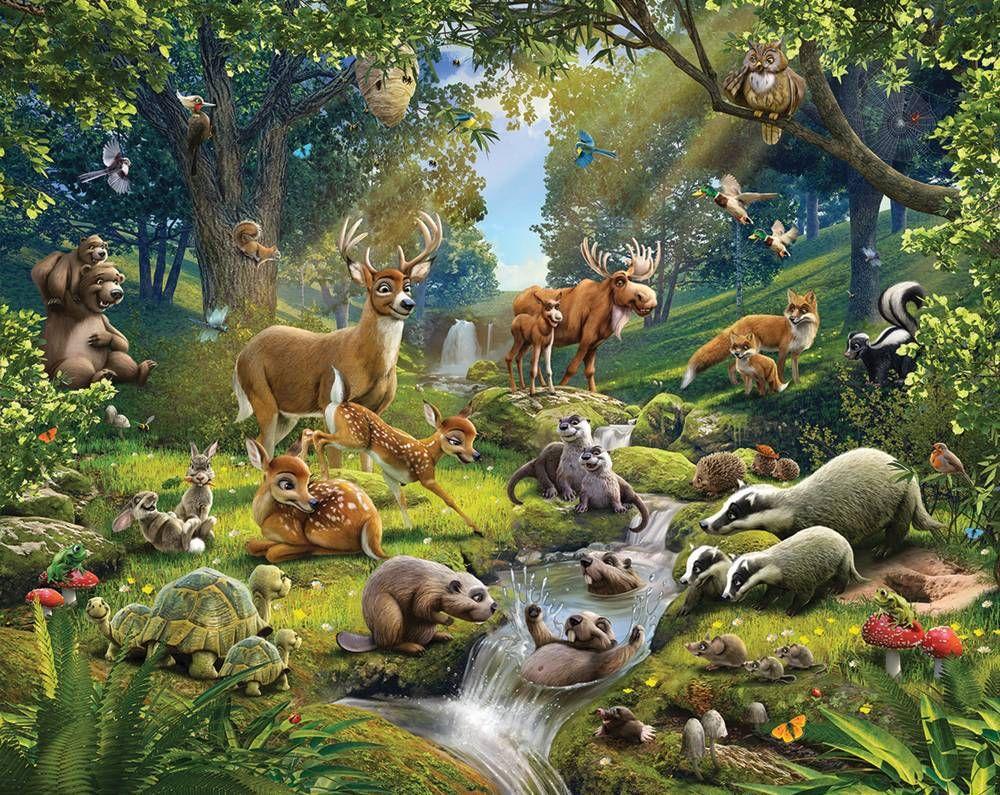 Kinderkamer Jungle Behang : Kinderkamer thema behang best popular artists popular artists