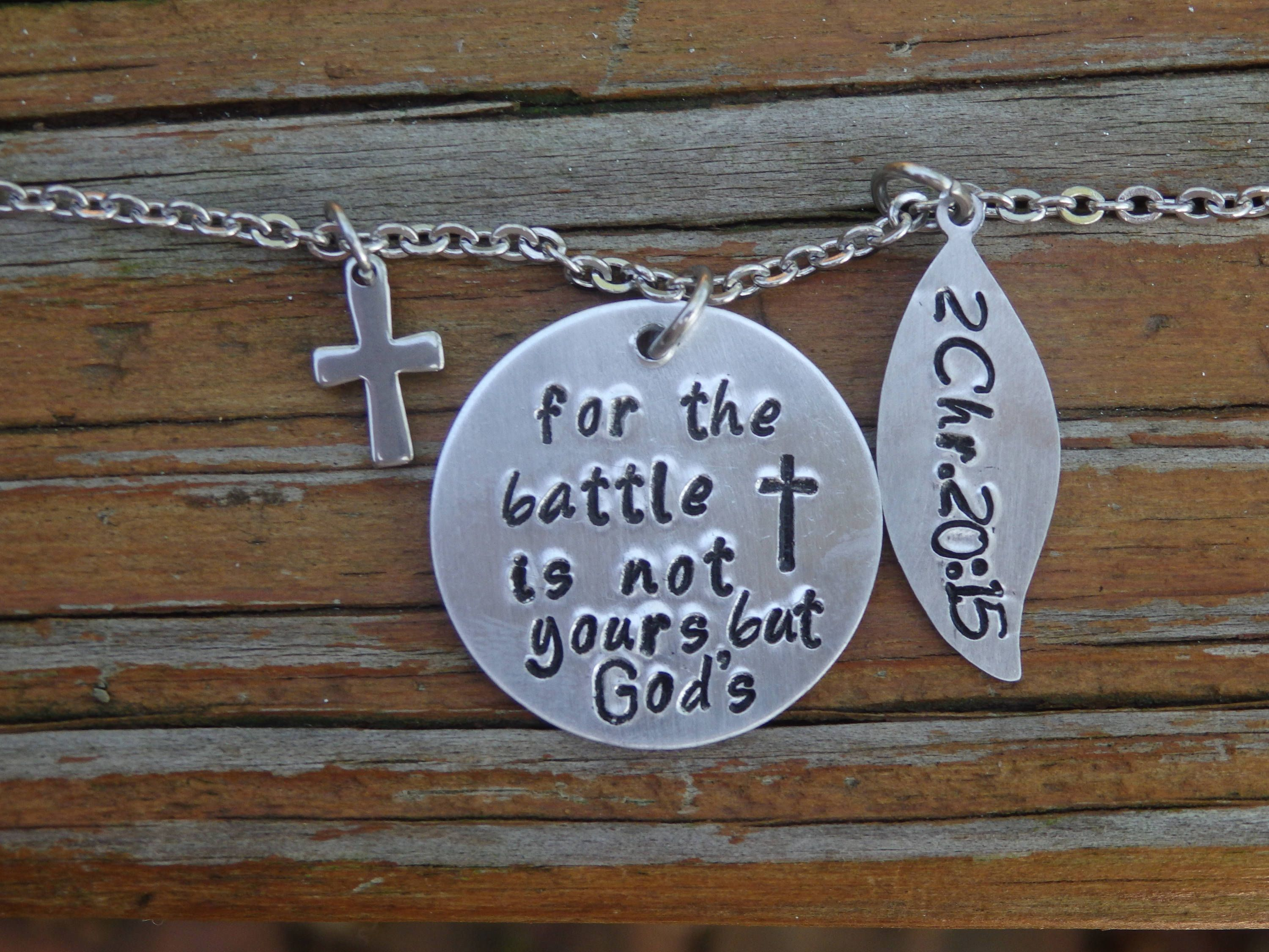 gift give cross hand christian necklace stamped me jesus pin graduation