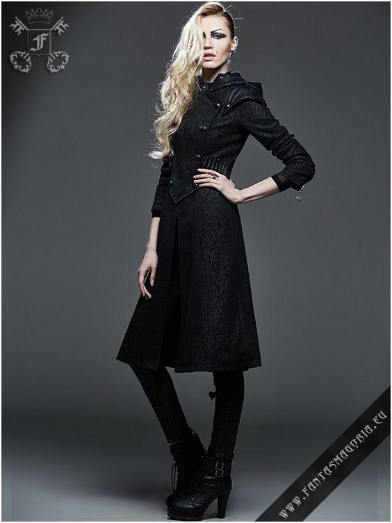 Y-582 Assassin coat   Fantasmagoria.eu - Gothic Fashion boutique