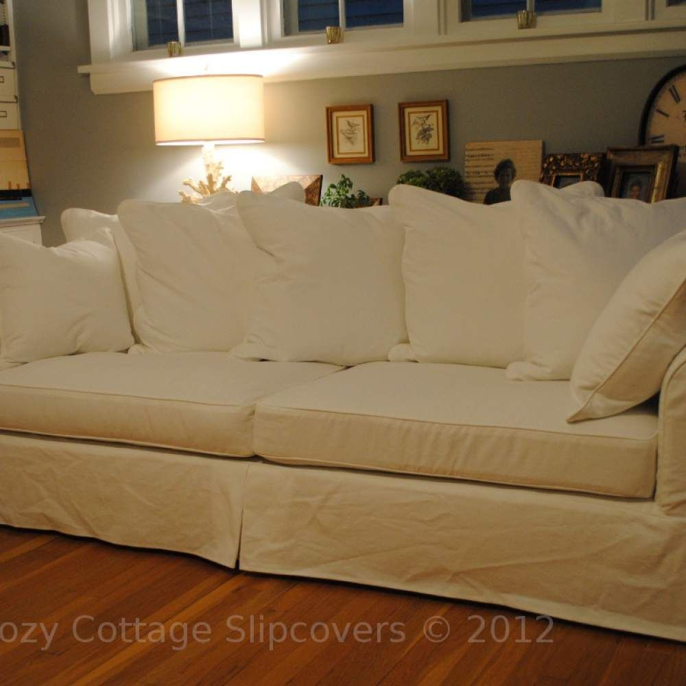 Cozy Cottage Slipcovers Pillow Back Sofa Slipcover Slip Covers Couch Large Sofa Modern Sofa Designs