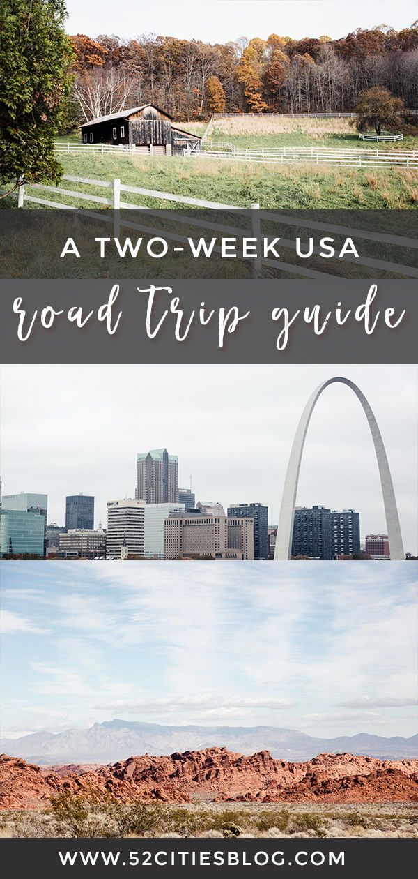 The ultimate cross-country road trip itinerary