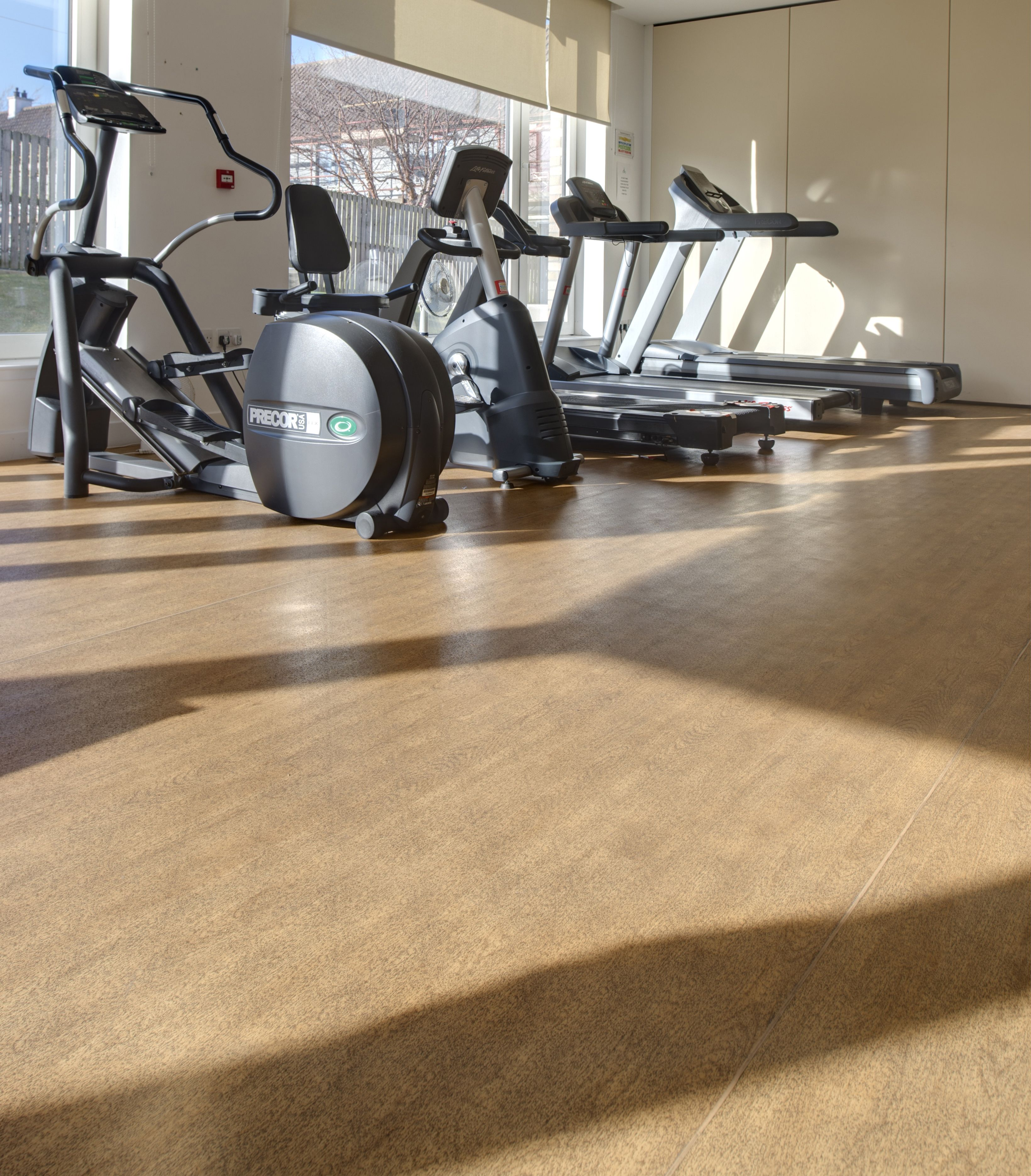 Our case study at Thistle Foundation, Glasgow; Taraflex® Evolution in Wood Oak #SportsFlooring