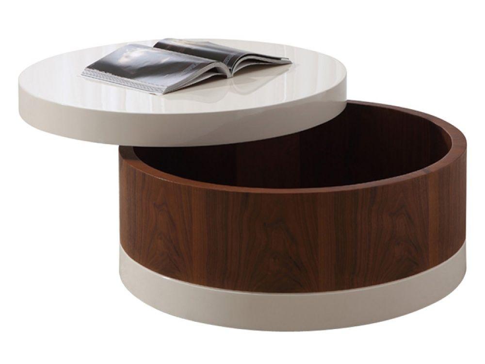 Furniture Large Ottoman Coffee Table Design Ideas Round Coffee - Cream colored round coffee table