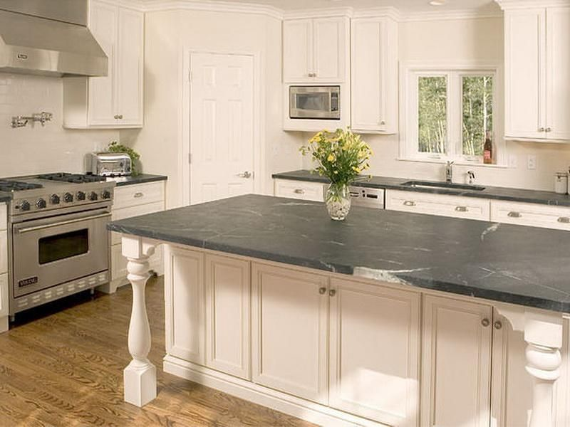 Blue Countertops For Kitchens Soapstone Countertops Cost