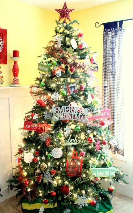 Unique christmas tree themes christmas tree christmas - Cool christmas tree ideas ...