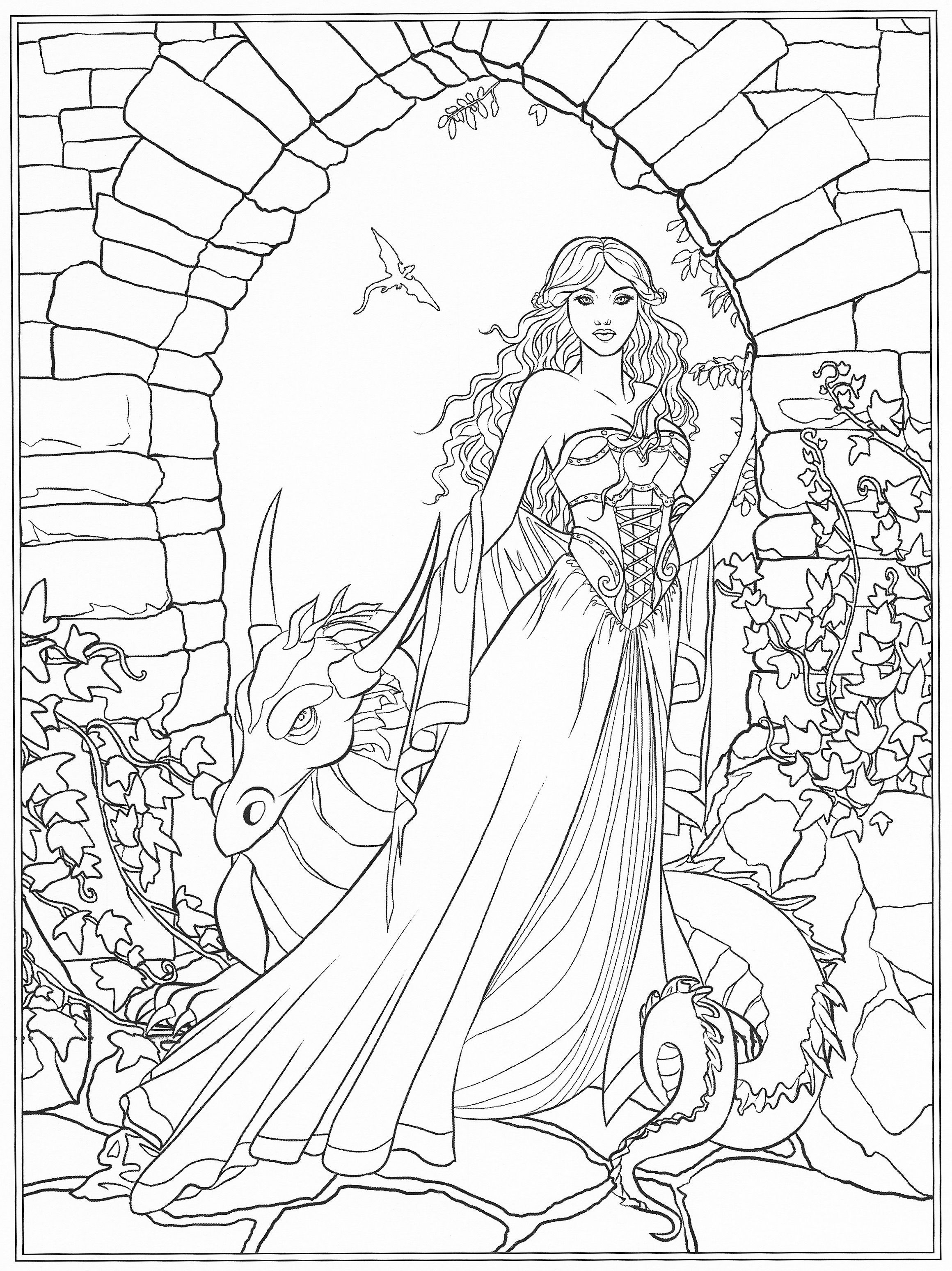 Fantasy Coloring Pages Disney Coloring Pages Coloring Pages Pokemon Coloring Pages
