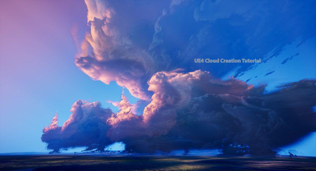 UE4 Cloud Creation Tutorial Clouds, Cloud texture, Tyler