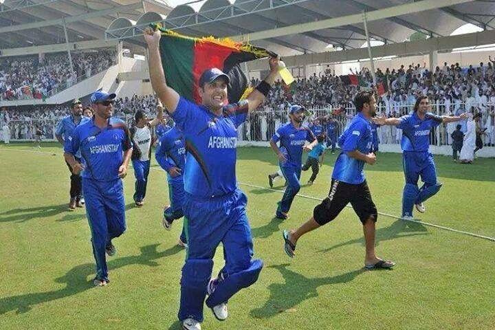 Afghan cricket team celebrating victory | Afghanistan, Cricket teams, Afghan girl